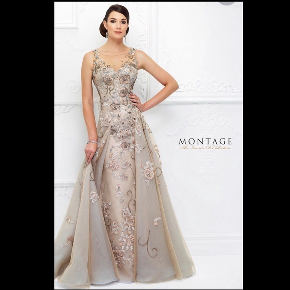 d962338c7ee4 Mon Cheri Dresses | Ivonne D Cutout Back Evening Dress | Poshmark